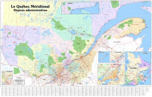 Cartogeoca Maps Of Quebec Province - Map of quebec